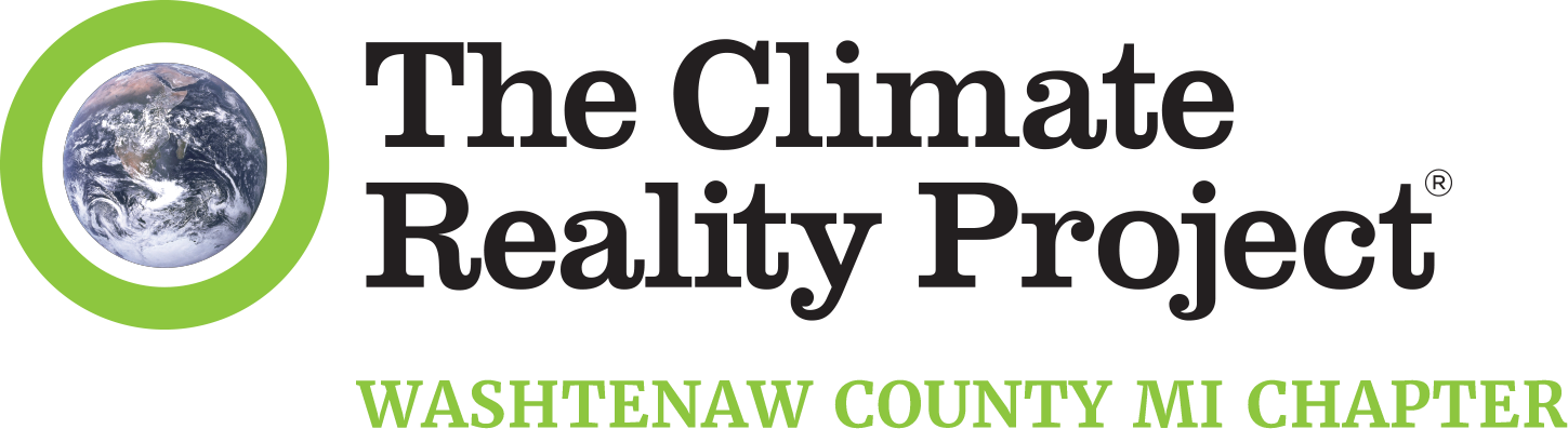 The Climate Reality Project - Washtenaw County, Michigan chapter